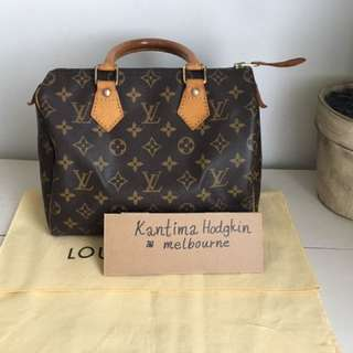 Authentic pre-owned Louis Vuitton Speedy 25