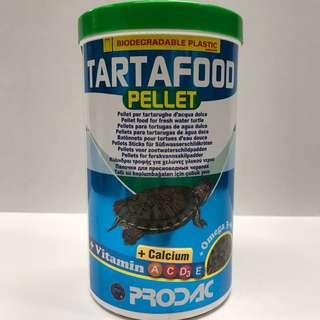 義大利 PRODAC 博達克 烏龜 爬蟲 高鈣營養飼料 (1200ml)