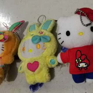Hello kitty small stuffrd toy plush