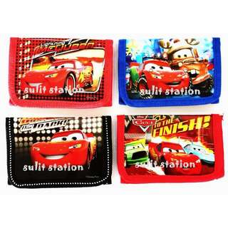 PIXAR CARS PARTY TRIFOLD WALLET GIVEAWAYS FAVORS