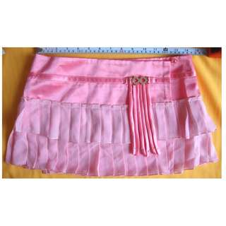 設計師專櫃精品 車工精緻 迷你裙2 百褶粉色