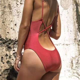 Red Swimsuit from Showpo