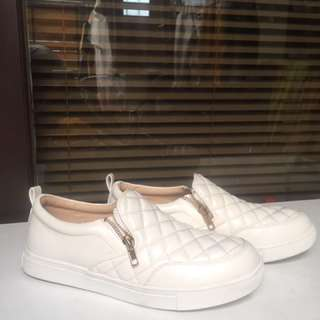 Tracce slip on white size 39