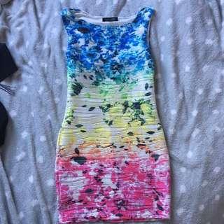 Cute rainbow dress