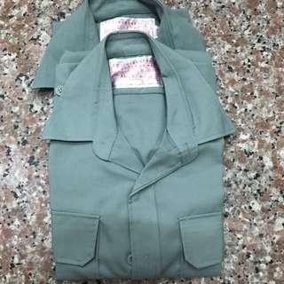 🚚 男用陸軍軍便服短袖上衣