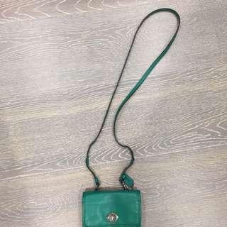 Coach legacy Mini Mini crossbody bag in green