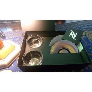 nespresso 拿鐵咖啡杯 原廠 進口 全新 兩入 免運