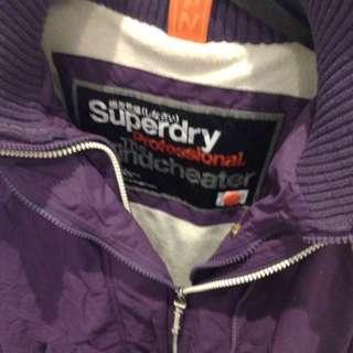 Purple super dry jacket