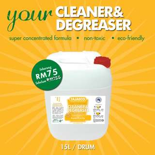 ON SALE  - CLEANER & DEGREASER