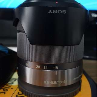 Sony SEL1855 E-mount 18-55mm F3.5-5.6 OSS Lens