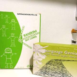Shichida Dot and Language Cards