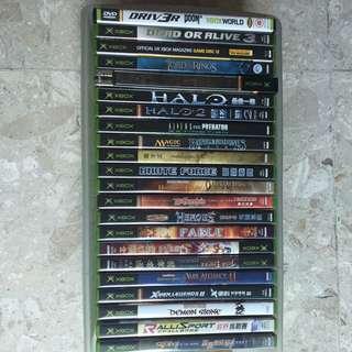 Xbox games.