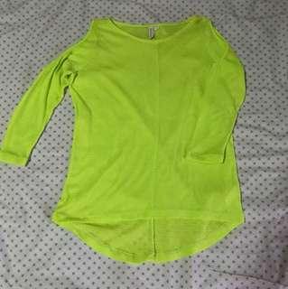 Penshoppe cold shoulder blouse