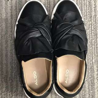 Almost brand new ALDO covered shoes