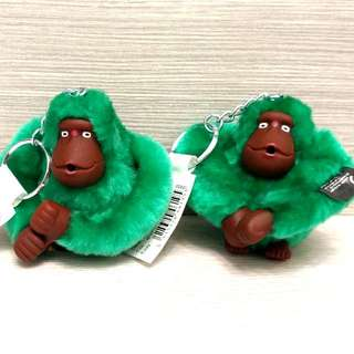 全新正貨Kipling猴子鎖匙扣吊飾 Brand New Kipling Monkey Key Chain