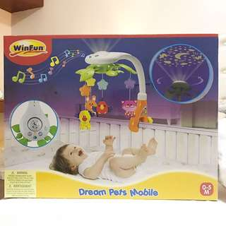 DREAM PETS MOBILE FOR CRIB OR PLAYPEN