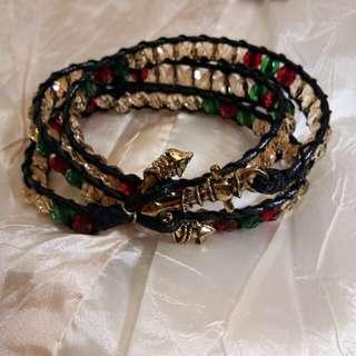 Wrap anchor bracelet