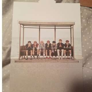 BTS Spring Day group standee