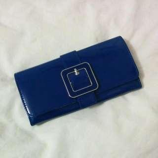 Navy Blue Women's Wallet