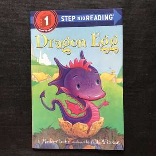 💥NEW - Step Into Reading Step 1 - Dragon Egg