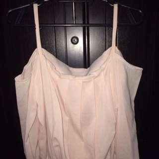 Ling sleeves off shoulder Top