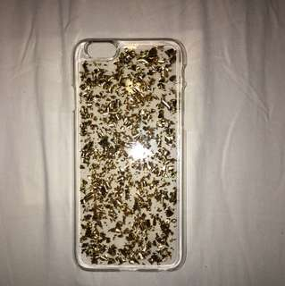 iPhone 6/6s case (GOLD GLITTER)