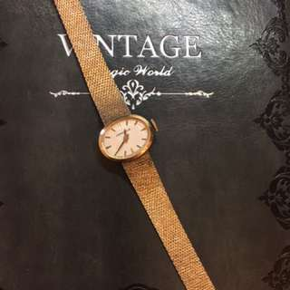 古董表vintage watch 60-70s windup watch ladies