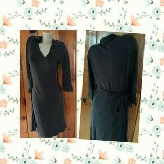 UNI QLO  wrap around dress
