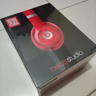 Beats Studio by Dr. Dre (Red Headphones)