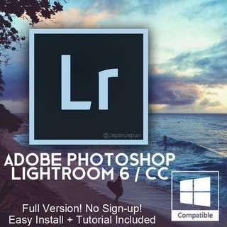 Lightroom 6 (By Adobe)