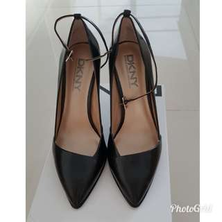 DKNY Black Stiletto Pointed Heels