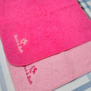 Bench hand towel