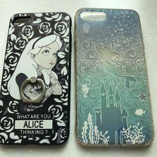 全新和二手手機I phone 7 Plus 手機殼 愛麗絲美人魚