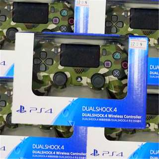 [new not used] Camo Green 100% ORIGINAL Sony PlayStation PS4 DUALSHOCK 4 wireless Analog Controller