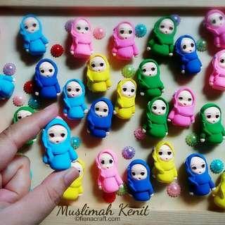 Muslimah Keychains