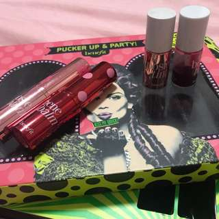 Benefit pucker up & party