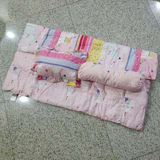 BNIP Baby Pillow, Bolster & Blanket