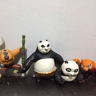 Kung Fu Panda Set