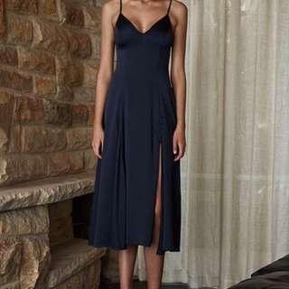 Shona Joy Delilah Dress Navy
