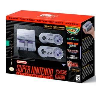 [BNIB] Super Nintendo Entertainment System (SNES) Classic Edition