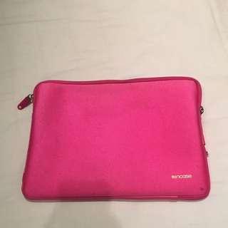 Incase pink 13-inch laptop casing