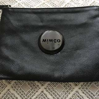 Mimco pouch black