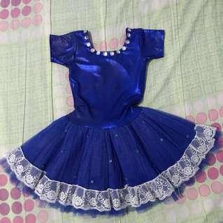 Swan ballerina costume