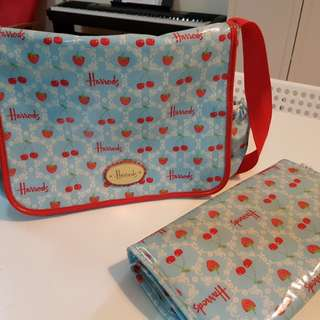 Harrods nappy bag