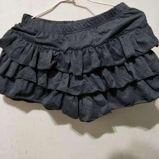 🚚 黑色蛋糕褲裙
