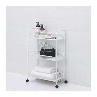 IKEA HORNAVAN Troli serbaguna dari bahan baja uk 26x48x77 cm