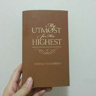 Utmost for His Highest Oswald Chambers