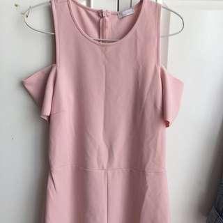 Zara Baby Pink Jumpsuit