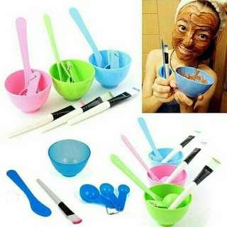 Mangkuk Masker Set 4in1