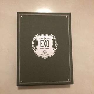 exo first box (4DVD)